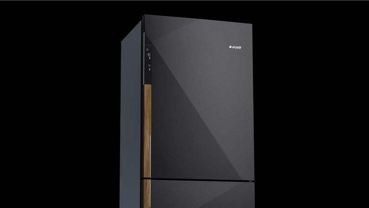 Arçelik'ten karbon fiber buzdolabı